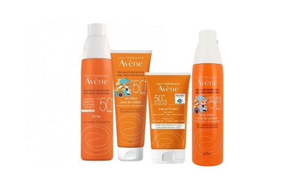 Avène gamme Solaires
